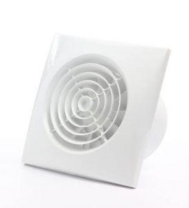 Lydløs ventilator til badeværelse