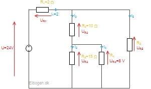 Blandede forbindelser eksempel 1