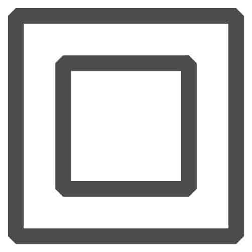 Dobbelt isoleret materiel (Klasse 2)